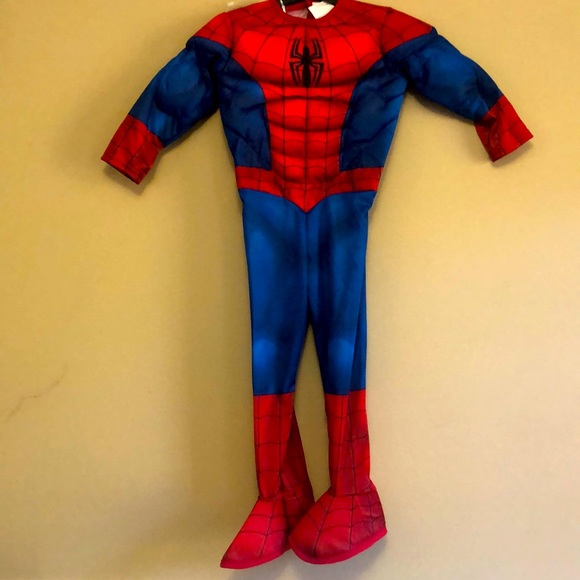 Adorable Spider-Man costume. Perfect 🎄 gift! NWT